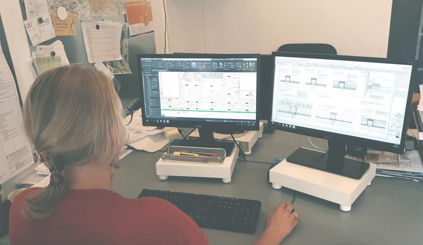 Prace projektowe dla budynków biurowych
