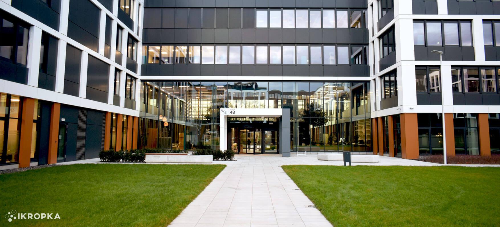 Business Garden Wrocław – zakończona realizacja projektu wykonawczego IKROPKI